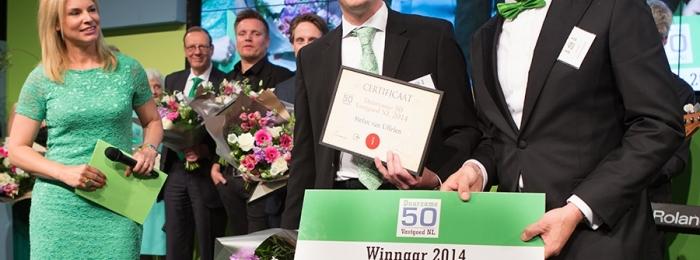 Genomineerden Duurzame 50 bekend