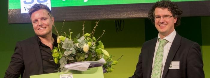 Jan-Willem van de Groep wint Duurzame 50 Vastgoed NL