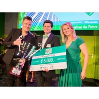 Roger Cox wint ABN AMRO Duurzame 50